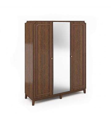 Шкаф 3-х дверный Беверли Дуб Гладстоун
