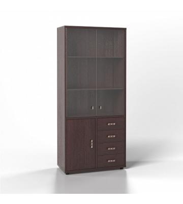 Шкаф универсальный без кожи 1Д-6Д Венге