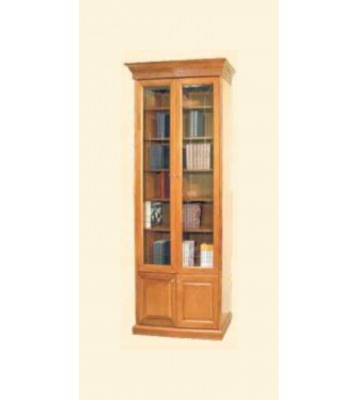 Шкаф книжный Государь двухдверный
