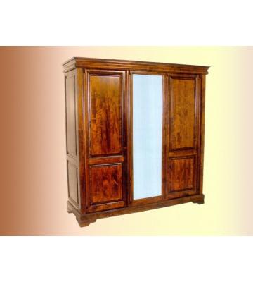 Шкаф ОВ25.05 трёхстворчатый с одной зеркальной дверью