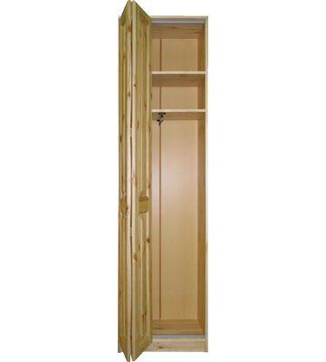 Шкаф платяной Шк-К со способом открывания гармошка либо распашными дверями