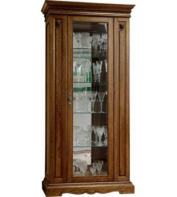 Однодверный шкаф с витриной Милана 8