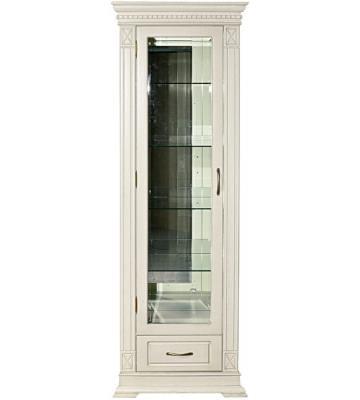Однодверный шкаф с витриной и ящиком Верди А 1з