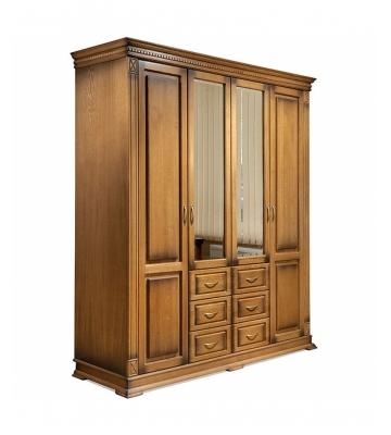 Четырехдверный шкаф Верди П095.01