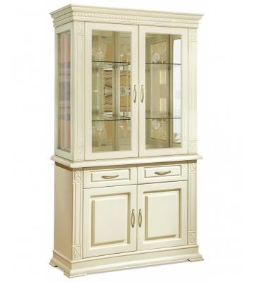 Комбинированный шкаф Верди А2з с витриной