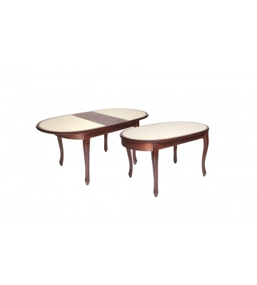 Стол раздвижной Азалия 2 с камнем