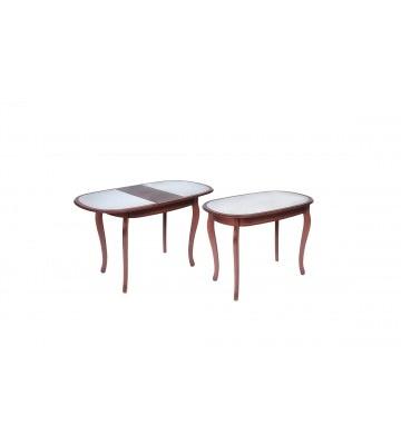 Стол раздвижной Азалия 100х700 с камнем