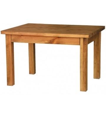 Нераскладной обеденный стол 120/90 из сосны