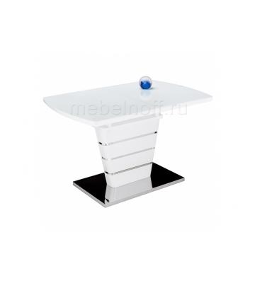 Стол стеклянный Space 140 белый