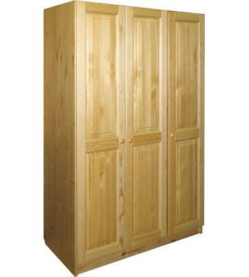 Трехдверный шкаф для белья Шк-003