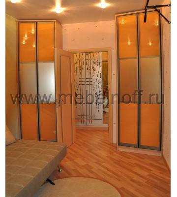 Встроенные шкафы для молодежной комнаты (модель 7)