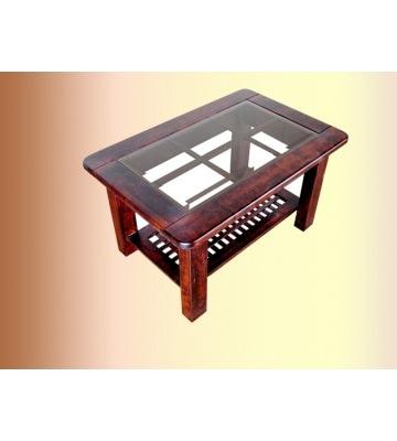 Деревянный журнальный столик со Стеклом ОВ 13 03
