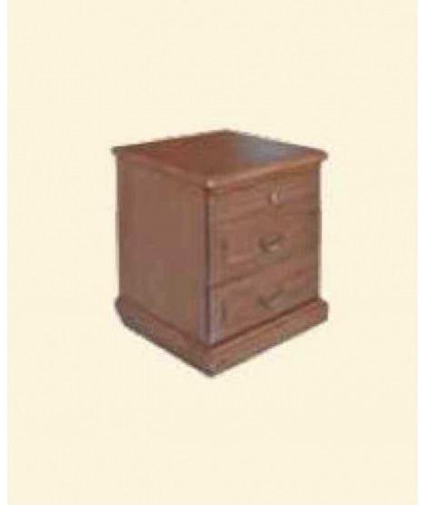 Тумба прикроватная с тремя ящиками Леди