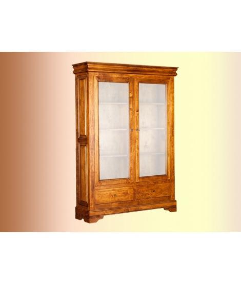 Двухдверный шкаф с витриной ОВ 28.02